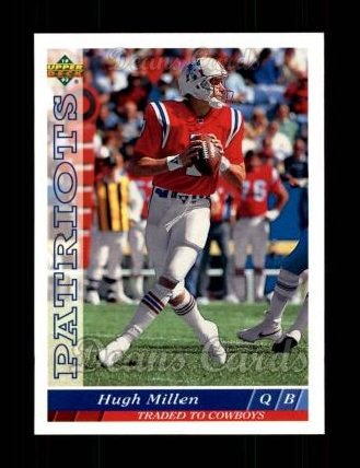 1993 Upper Deck #97  Hugh Millen