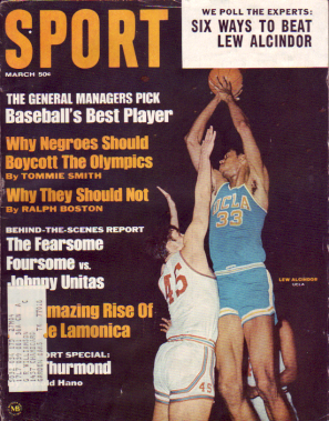 1968 Sport Magazine   -  Kareem Abdul-Jabbar  March