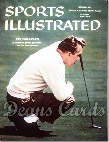 1959 Sports Illustrated - With Label   March 9  -  Ed Sullivan