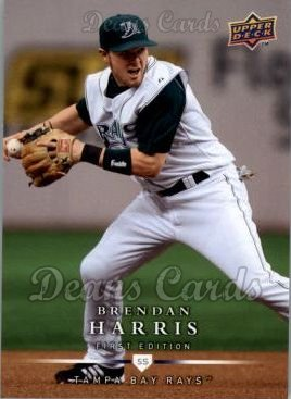 2008 Upper Deck First Edition #73  Brendan Harris