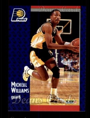 1991 Fleer #88  Micheal Williams