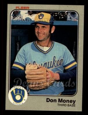 1983 Fleer #41  Don Money