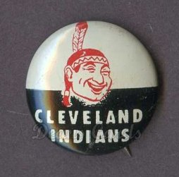 1961 Cranes Potato Chip Pin #6   Cleveland Indians