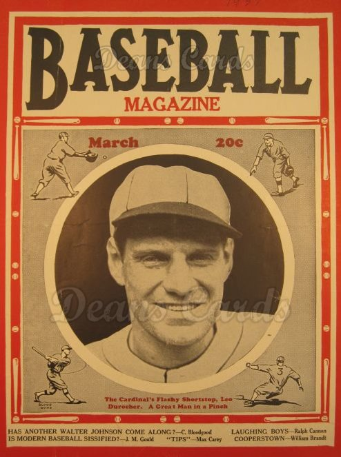 1937 Baseball Magazine    March