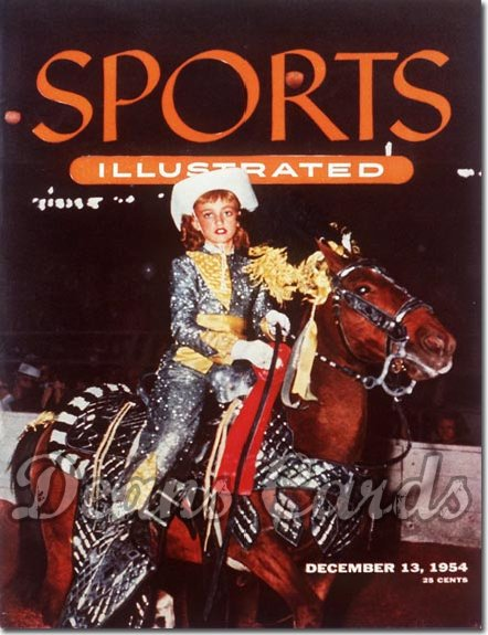 1954 Sports Illustrated   December 13  -  Royal Horse Show