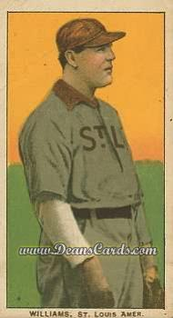 1909 T206 Reprint #514  Jimmy Williams