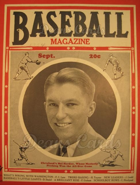 1934 Baseball Magazine    September