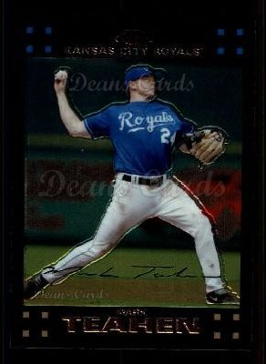 2007 Topps Chrome #79  Mark Teahen