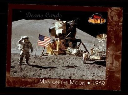 2001 Topps American Pie #129   Man On The Moon