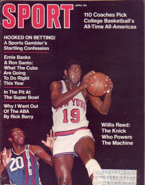 1970 Sport Magazine   -  Willis Reed  April
