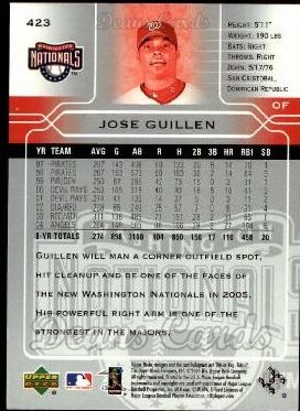 2005 Upper Deck #423  Jose Guillen