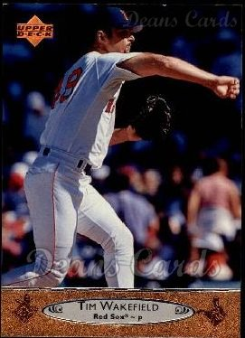 1996 Upper Deck #19  Tim Wakefield