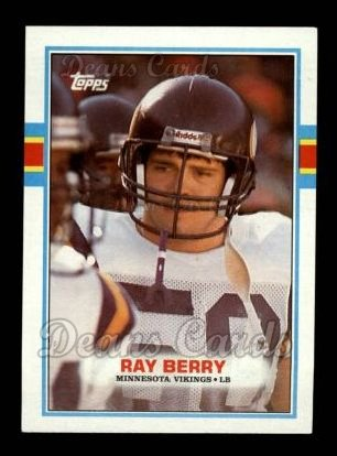 1989 Topps #80  Ray Berry