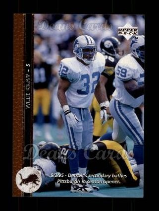 1996 Upper Deck #43  Willie Clay