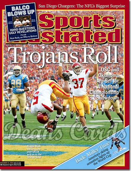 2004 Sports Illustrated   December 13  -  Reggie Bush USC Beats UCLA