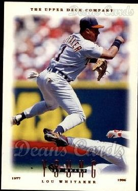 1996 Upper Deck #107  Lou Whitaker