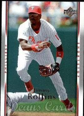 2007 Upper Deck #389  Jimmy Rollins