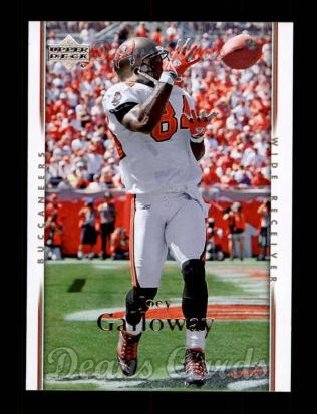 2007 Upper Deck #186  Joey Galloway