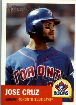 2002 Topps Heritage #212  Jose Cruz Jr.