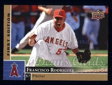 2009 Upper Deck First Edition #141  Francisco Rodriguez