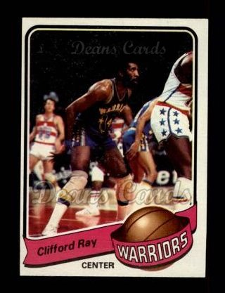 1979 Topps #72  Clifford Ray
