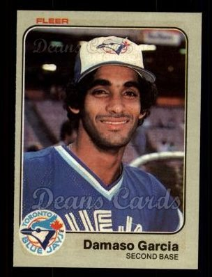 1983 Fleer #427  Damaso Garcia