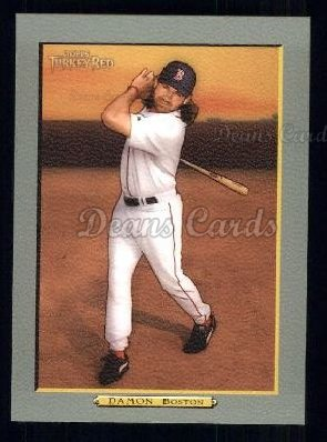 2005 Topps Turkey Red #182  Johnny Damon