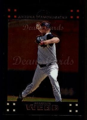 2007 Topps Chrome #231  Brandon Webb