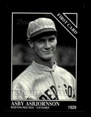 1994 Conlon #1315   -  Asby Asbjornson First Card