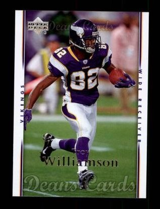 2007 Upper Deck #106  Troy Williamson