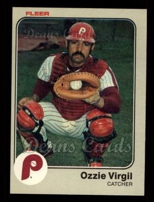 1983 Fleer #175  Ozzie Virgil