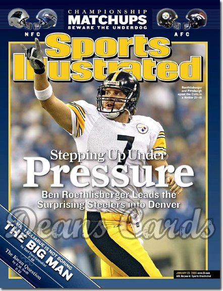 2006 Sports Illustrated   January 23  -  Jake Plummer Denver Broncos