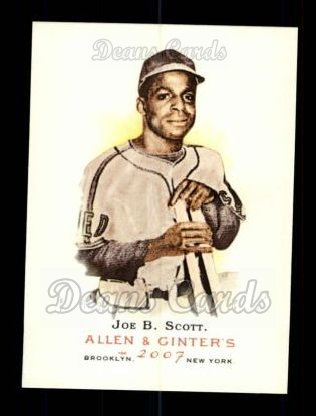 2007 Topps Allen & Ginter #68  Joe B. Scott