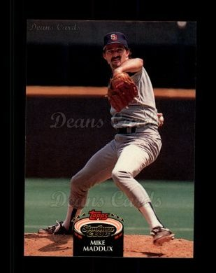 1992 Topps Stadium Club #26  Mike Maddux