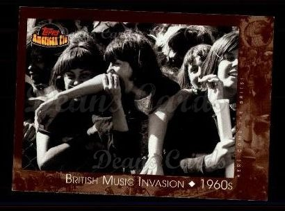 2001 Topps American Pie #124   British Music Invasion