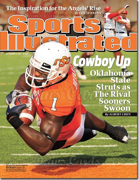 2009 Sports Illustrated - With Label   September 14  -  Dez Bryant