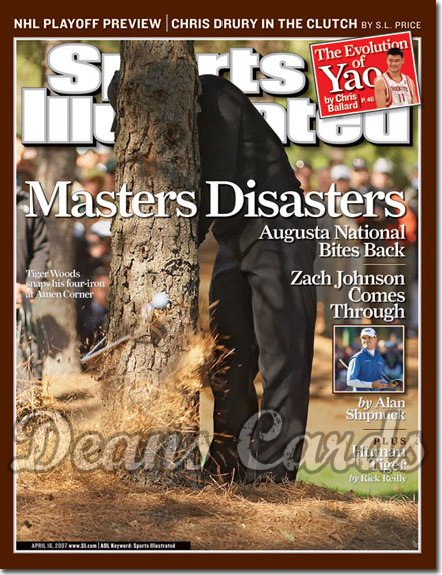 2007 Sports Illustrated   April 16  -  Tiger Woods Masters