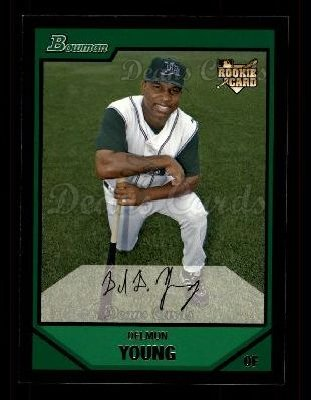 2007 Bowman #201  Delmon Young