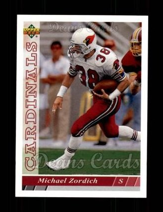 1993 Upper Deck #122  Michael Zordich