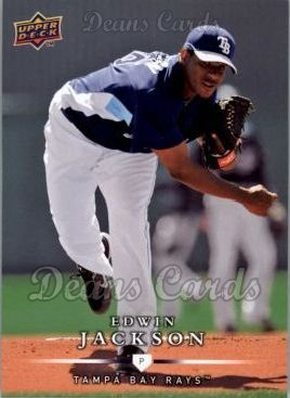 2008 Upper Deck First Edition #481  Edwin Jackson