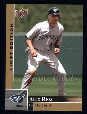 2009 Upper Deck First Edition #293  Alex Rios