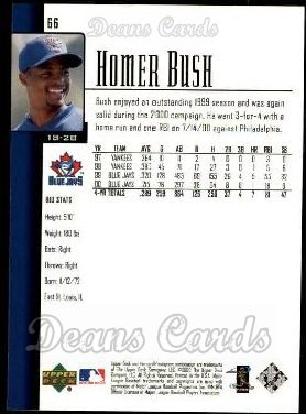 2001 Upper Deck #66  Homer Bush