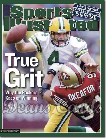 2002 Sports Illustrated   December 23  -  Brett Favre (Green Bay Packers)