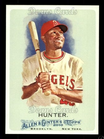 2010 Topps Allen & Ginter #102  Torii Hunter