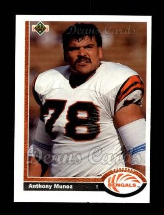 1991 Upper Deck #209  Anthony Munoz