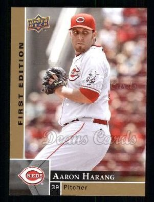 2009 Upper Deck First Edition #80  Aaron Harang