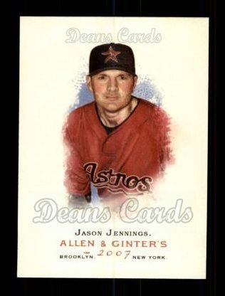 2007 Topps Allen & Ginter #328  Jason Jennings