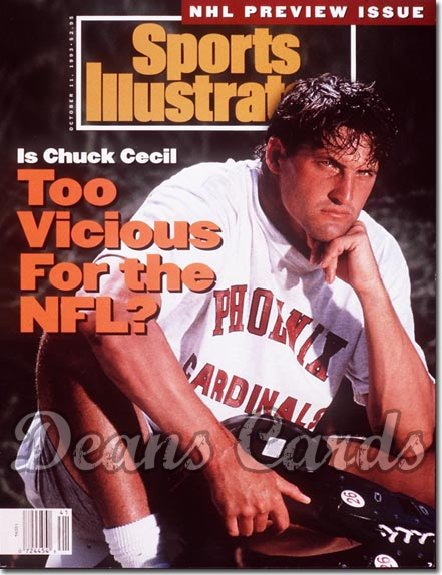 1993 Sports Illustrated - No Label   October 11  -  Chuck Cecil (Arizona Cardinals)