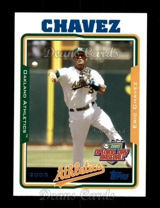 2005 Topps Opening Day #148  Eric Chavez