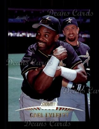 1999 Topps Stadium Club #202  Carl Everett